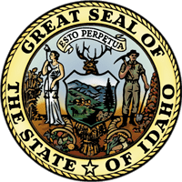 Idaho State Seal in color