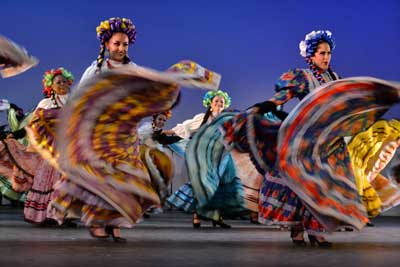 Dancers in Jalisco Mexico