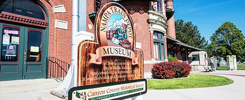 Nampa Train Depot Museum, Canyon County Historical Museum