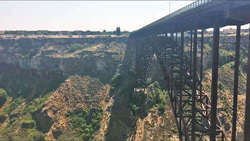 Perrine Memorial Bridge near Twin Falls, Idaho